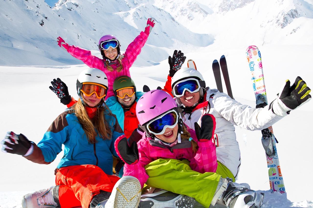 Summit chalets skiiing
